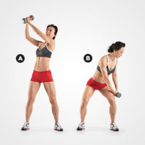 REVERSE DUMBBELL CHOP